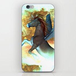 Dark unicorn  iPhone Skin