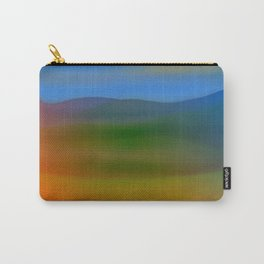Warm Hillscape Sunset Carry-All Pouch