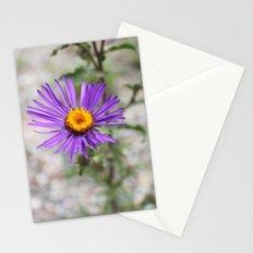 Purple Wild Flower Stationery Cards