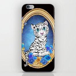 Tiger Rose wide iPhone Skin