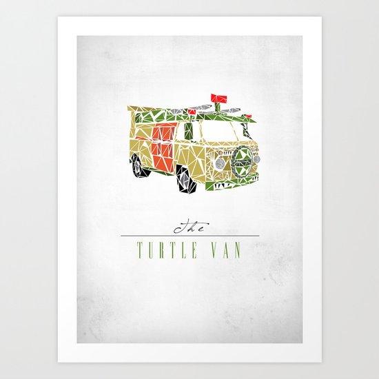 The Turtle Van Art Print