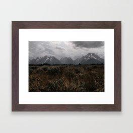 Tetons II Framed Art Print