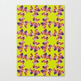 Wiggles Canvas Print