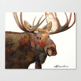 Michelangelo Moose Canvas Print