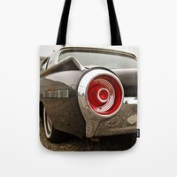 ford Tote Bags featuring Ford Americana by Vorona Photography