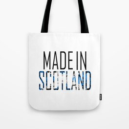 Made In Scotland Tote Bag