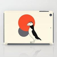 puffin iPad Cases featuring Puffin by Rebekhaart