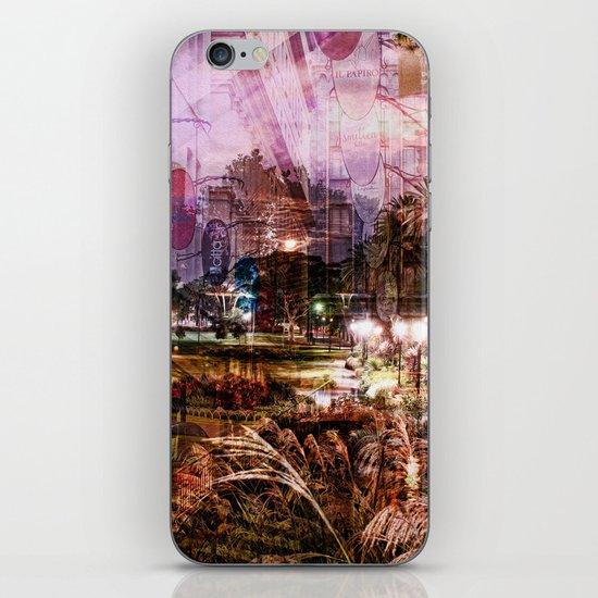 Double Exposure Art iPhone & iPod Skin