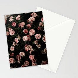 Pink Carnations Stationery Cards