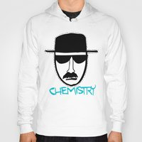 chemistry Hoodies featuring Chemistry by John Michael Gill