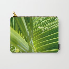 green gecko Carry-All Pouch