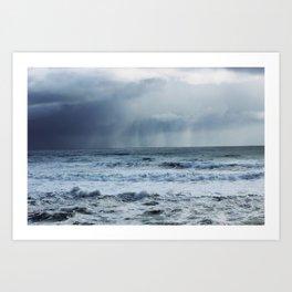 Angry Sea (West Coast South, New Zealand) Art Print