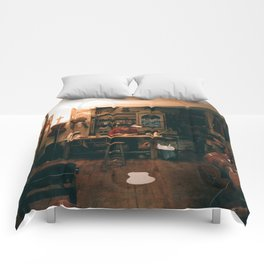 The Violin Man Comforters