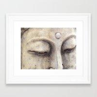 buddah Framed Art Prints featuring Buddah by Jacklyn Duryea Fraizer