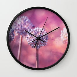 Delicate Morning Wall Clock
