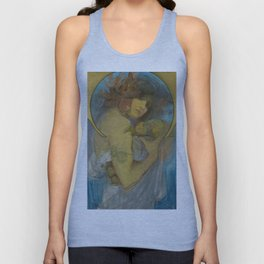 "Alphonse Mucha ""Study for a poster - Fruit"" Unisex Tank Top"