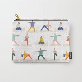 Yoga Pattern | Yoga Namaste Health Meditation Yogi Carry-All Pouch
