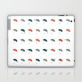 Take your umbrella ! It's raining! Laptop & iPad Skin