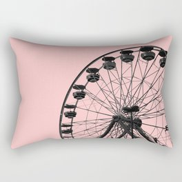 Ferris Wheel (Pink) Rectangular Pillow