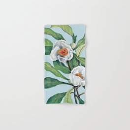 Franklin tree flowers Hand & Bath Towel