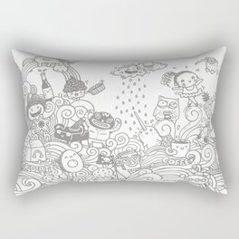 walmazan world Rectangular Pillow