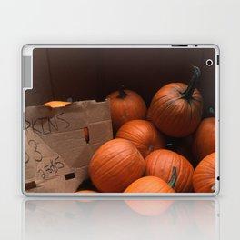 Pumpkins In a Box! Laptop & iPad Skin
