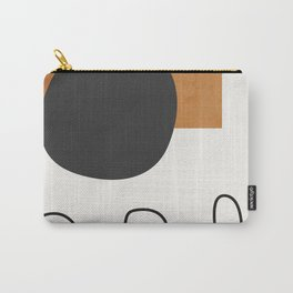 abstract minimal 53 Carry-All Pouch