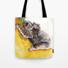 Koala on the Moon Tote Bag