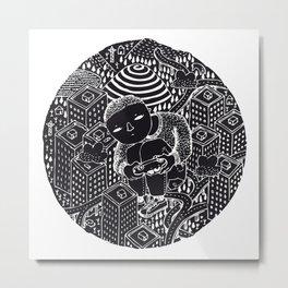 Nightswimming Metal Print