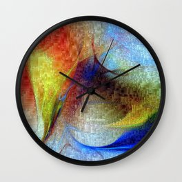 Hawaii - Island of Fire Wall Clock