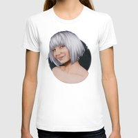 sia T-shirts featuring Sia  by Will Costa