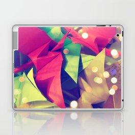 Senbazuru | pink and green Laptop & iPad Skin