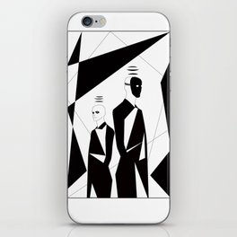 Twin iPhone Skin