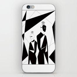 Twin iPhone Skin