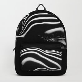 0686-AR BW Contemporary Art Nude Large Woman BBW Graceful and Strong Backpack