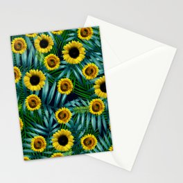 Sunflower Party #2 Stationery Cards
