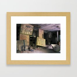 Chernobyl - осереддя Framed Art Print