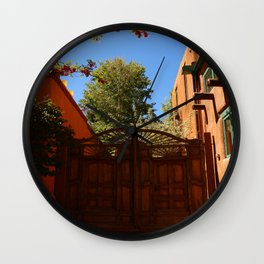 A New Mexico Entrance Wall Clock