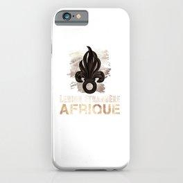 Legion D'Afrique - French Legion iPhone Case