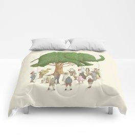 The Night Gardener - Elephant Topiary Comforters