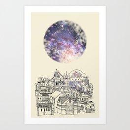 Cincinnati Fairy Tale Art Print