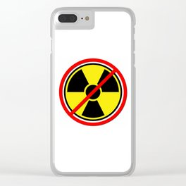 Against Atom Clear iPhone Case