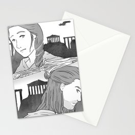 ACInktober - Choice Stationery Cards