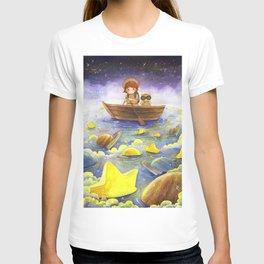 Floating stars T-shirt