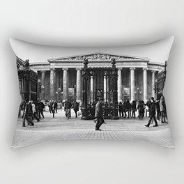 British Museum - Entrance Rectangular Pillow