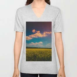 Painted Sky Unisex V-Neck