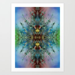 Extraterrestrial Nature Art Print