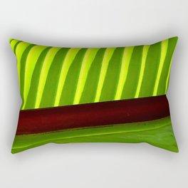Avant-Garde Luxurious Leaf Super Macro Close-Up Rectangular Pillow