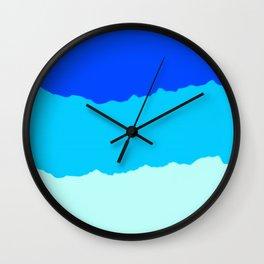 Crashing Sea Waves - Foam, Surf & Sky Wall Clock