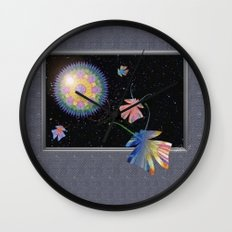 Slightly Altered Consciousness  Wall Clock